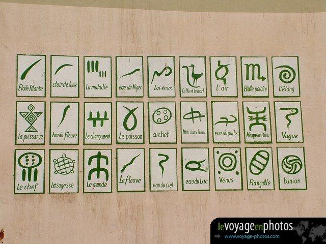 Symboles Bambara - Mali
