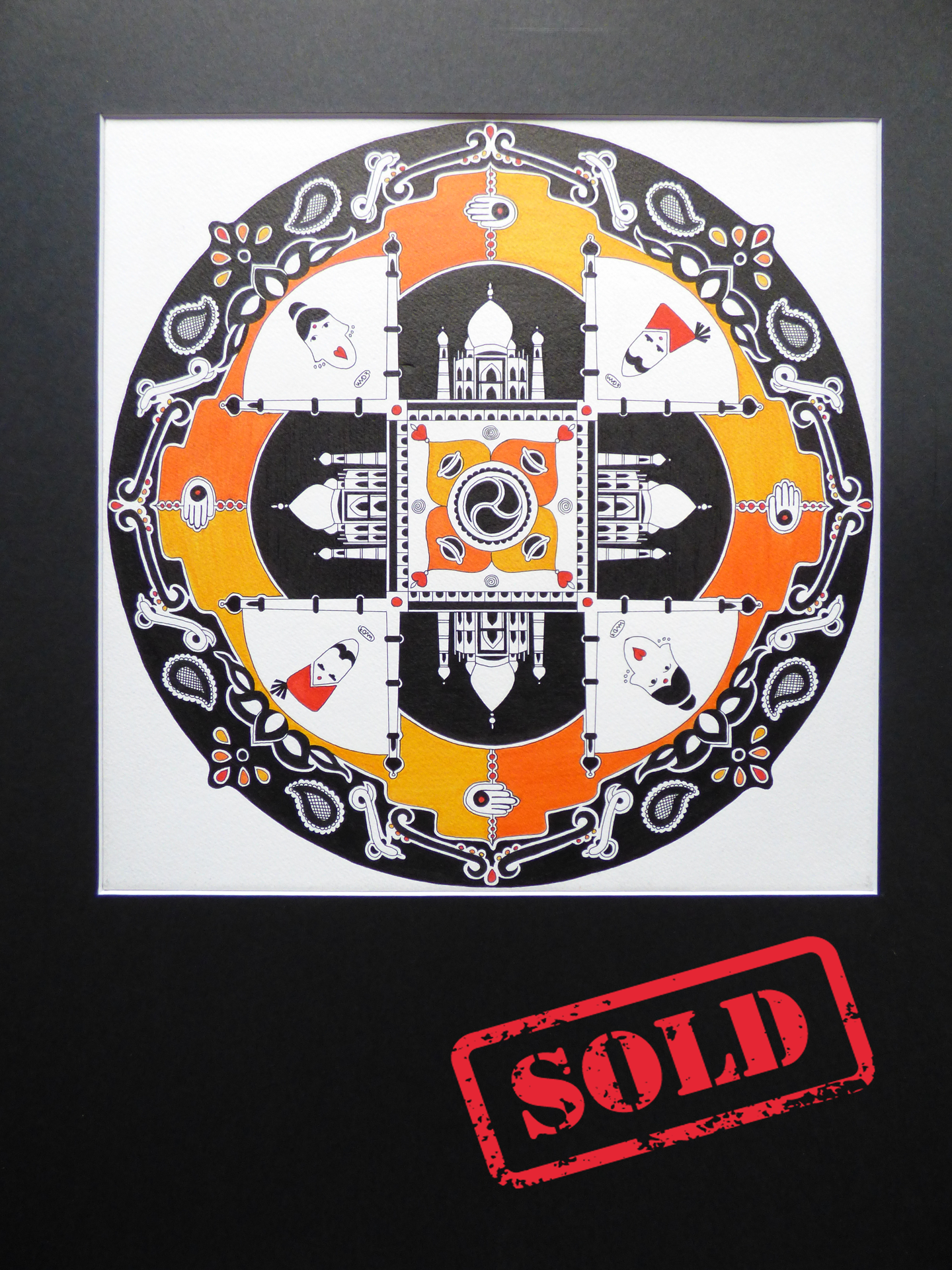 Taj Mahal Legend - SOLD